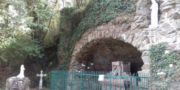 La grotte de Lourdes de Montrevault